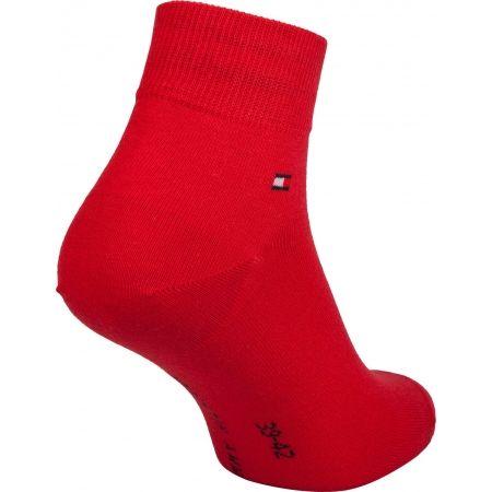 Pánske ponožky - Tommy Hilfiger MEN QUARTER 2P - 5