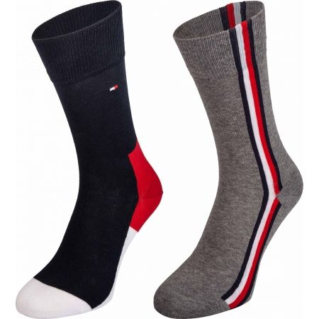 Tommy Hilfiger MEN ICONIC HIDDEN SOCK 2P - Мъжки чорапи
