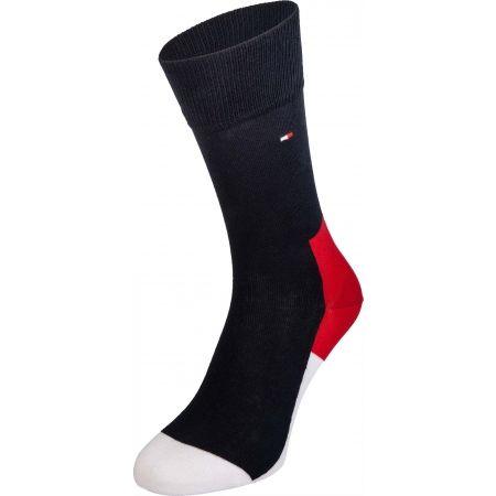 Pánské ponožky - Tommy Hilfiger MEN ICONIC HIDDEN SOCK 2P - 2