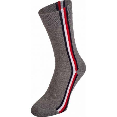 Pánské ponožky - Tommy Hilfiger MEN ICONIC HIDDEN SOCK 2P - 4
