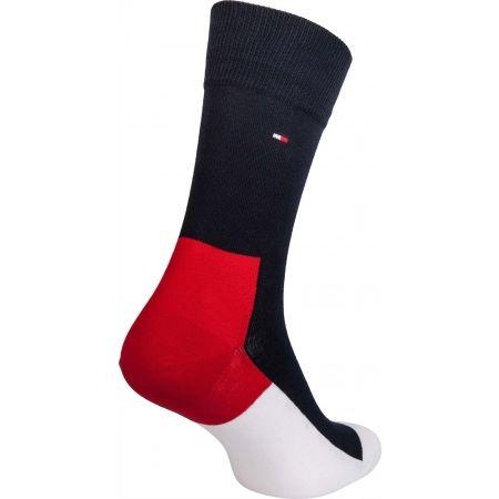Pánské ponožky - Tommy Hilfiger MEN ICONIC HIDDEN SOCK 2P - 3