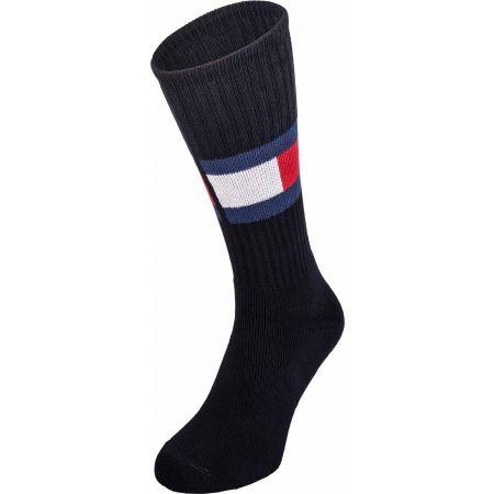 Tommy Hilfiger JEANS FLAG 1P - Pánske ponožky