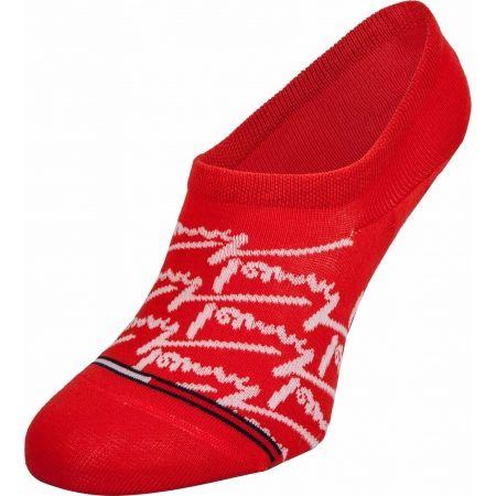 Ponožky - Tommy Hilfiger JEANS FOOTIE 2P HANDWRITE - 2