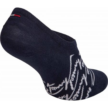 Ponožky - Tommy Hilfiger JEANS FOOTIE 2P HANDWRITE - 5