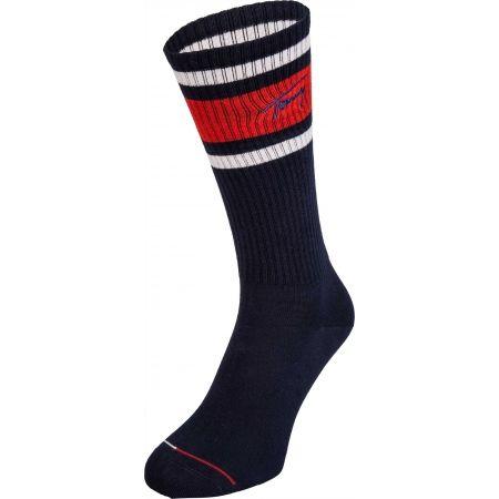 Tommy Hilfiger JEANS VINTAGE CUT 1P NERD - Pánské ponožky