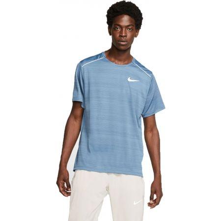 Мъжка блуза за бягане - Nike DRY MILER TOP SS M - 1