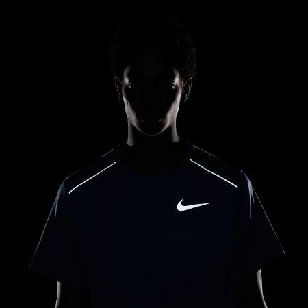 Мъжка блуза за бягане - Nike DRY MILER TOP SS M - 6
