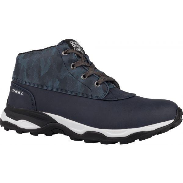 O'Neill BACKSIDE CAMOUFLAGE tmavo modrá 42 - Pánska zimná obuv