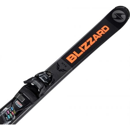 Мъжки ски - Blizzard RTX DARK + MARKER TLT 10 - 4