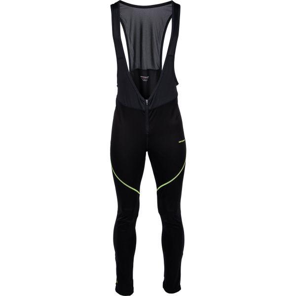 Arcore JERGUS čierna L - Pánske x-country nohavice na traky