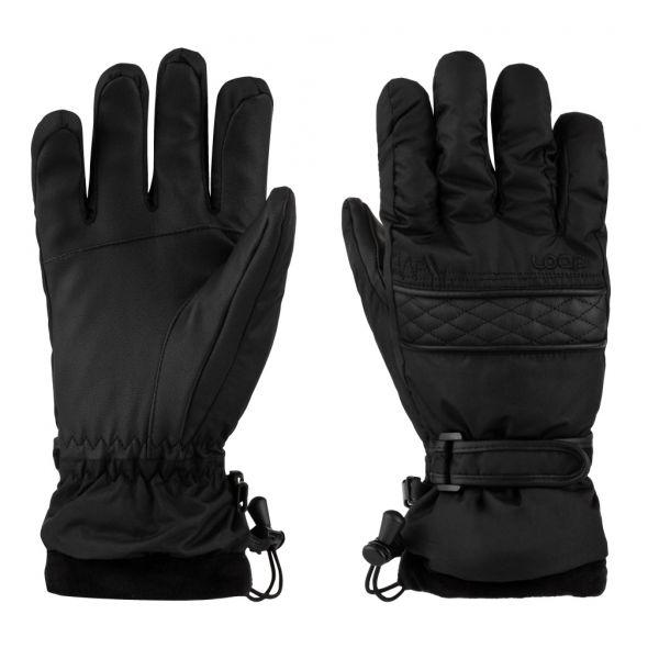 Loap ROZARKA čierna Dámske rukavice M LOAP