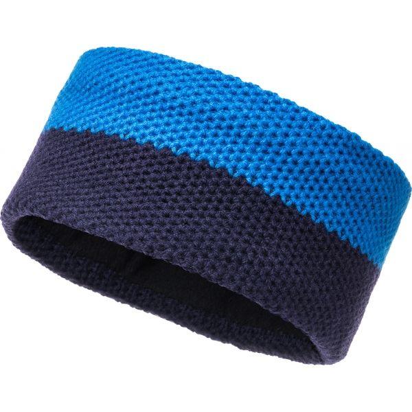 FLLÖS JENSEN tmavě modrá UNI - Pletená čelenka
