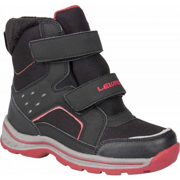 Lewro CRONUS čierna 27 - Detská zimná obuv