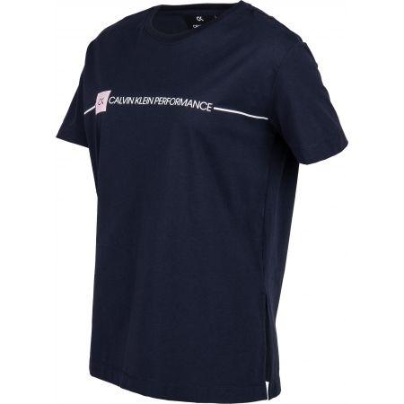 Dámské tričko - Calvin Klein LOGO SHORT SLEEVE TEE - 2