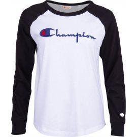 Champion CREWNECK LONG SLEEV - Dámske tričko s dlhým rukávom