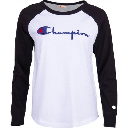 Champion CREWNECK LONG SLEEV - Дамска блуза