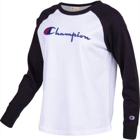 Dámske tričko s dlhým rukávom - Champion CREWNECK LONG SLEEV - 2
