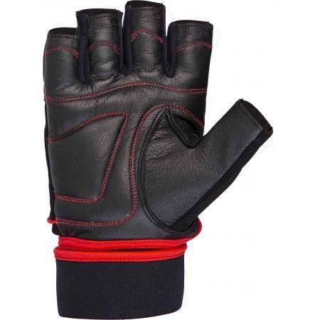 Kožené fitness rukavice - Fitforce FERAL - 2