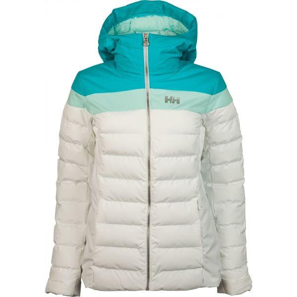 Helly Hansen IMPERIAL PUFFY JACKET W bílá XS - Dámská lyžařská bunda