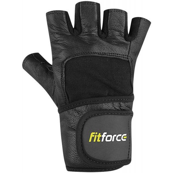 Fitforce FITNESZ KESZTYŰ fekete S - Fitnesz kesztyű