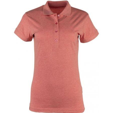 ALPINE PRO ZENDAYA - Dámske polo tričko
