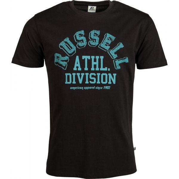 Russell Athletic ATHL.DIVISION S/S CREWNECK TEE SHIRT sötétkék L - Férfi póló