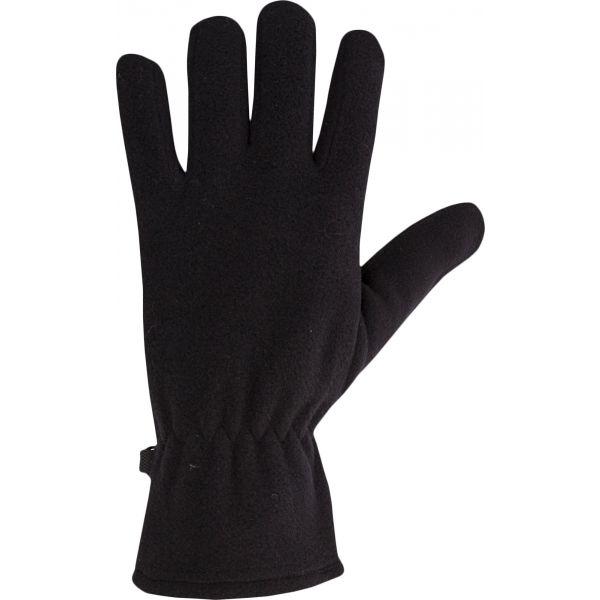 Willard MIJAKO černá M/L - Dámské fleecové rukavice