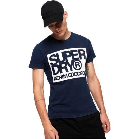 Pánske tričko - Superdry DENIM GOODS CO TEE - 2