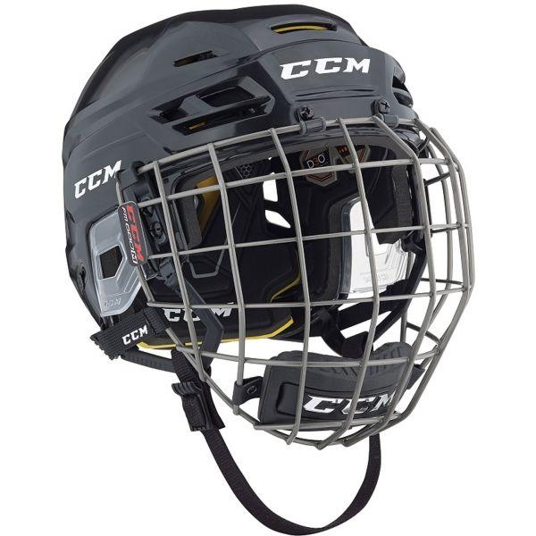 CCM TACKS 310C SR COMBO černá S - Hokejová helma