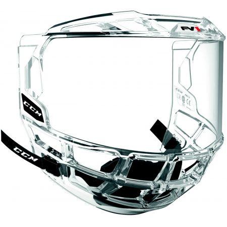Pleksi do kasku hokejowego - CCM FV1 CCM FULL VISOR JR