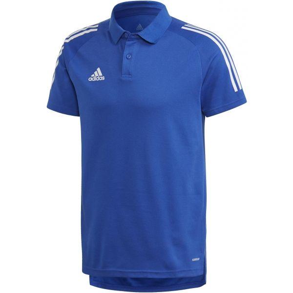 adidas CON20 POLO niebieski 2XL - Koszulka polo męska