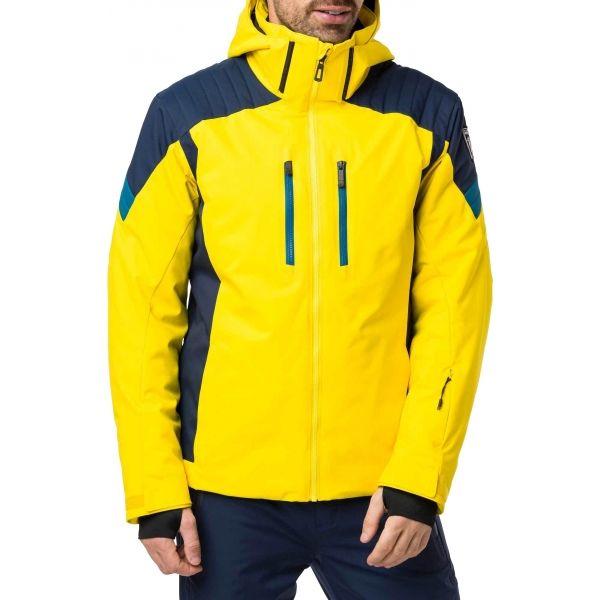 Rossignol SKI žlutá 2XL - Pánská lyžařská bunda