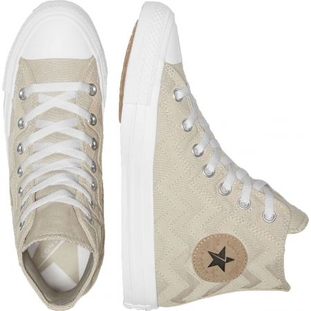 Dámska členková obuv - Converse CHUCK TAYLOR ALL STAR VLTG SUEDE OVERLAY - 4