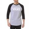 Pánske tričko s 3/4 rukávom - Vans MN VANS CLASSIC RAGLAN ATHLETIC - 2