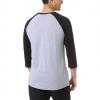 Pánske tričko s 3/4 rukávom - Vans MN VANS CLASSIC RAGLAN ATHLETIC - 3