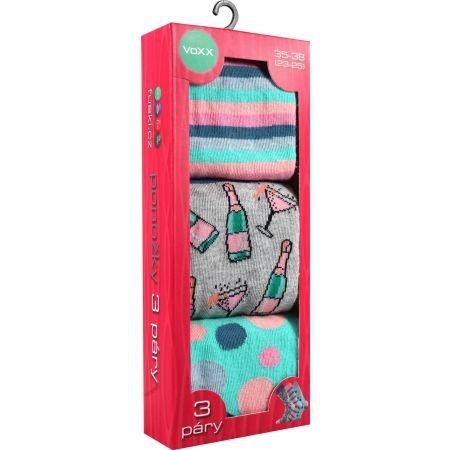Dámske ponožky - Voxx S-BOX dámska 3pack - 6