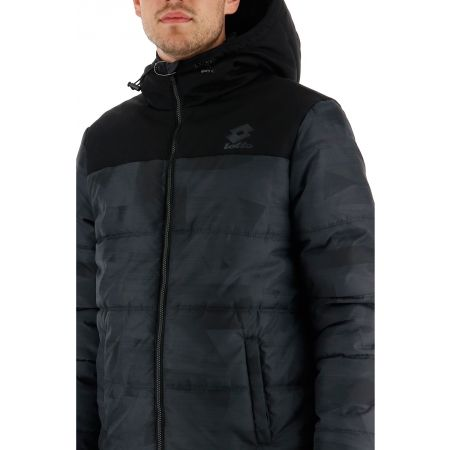 Pánska zimná bunda - Lotto JACKET CERVINO PAD HD PRT 2 PL - 7