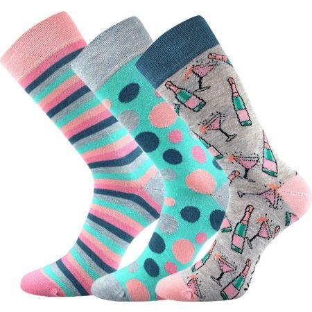 Voxx S-BOX dámská 3pack - Női zokni