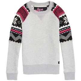 Superdry COURCHEVEL KNIT MIX JUMPER - Dámský svetr
