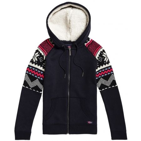 Superdry COURCHEVEL ZIP THRU HOODY - Women's sweatshirt