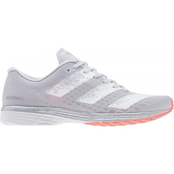 adidas ADIZERO RC 2 W biela 6 - Dámska bežecká obuv
