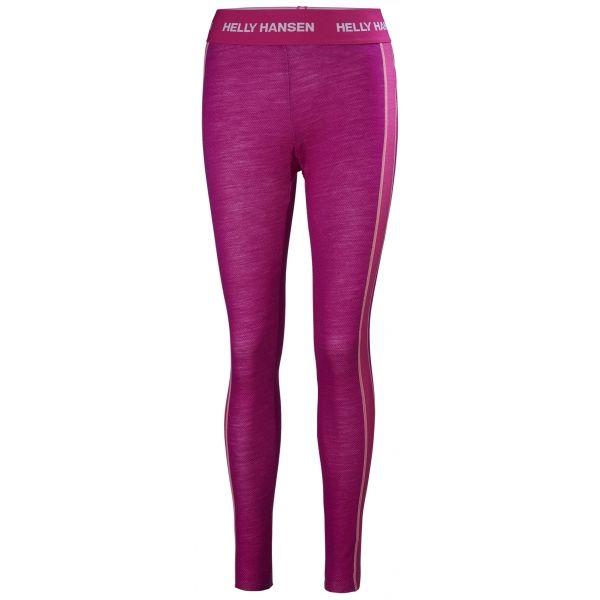 Helly Hansen LIFA MERINO PANT W rózsaszín XS - Női legging