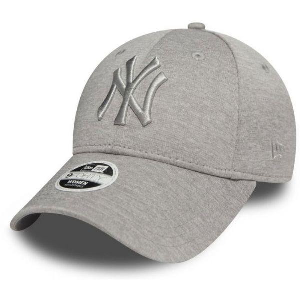 New Era 9FORTY W MLB JERSEY HEATHER WMN NEW YORK YANKEES - Dámska klubová šiltovka