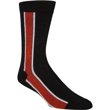 Calvin Klein VERTICAL STRIPE CREW - Pánske ponožky