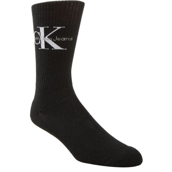 Calvin Klein CK RIB černá  - Pánské ponožky