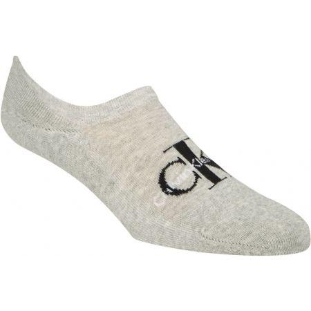 Calvin Klein RETRO LOGO LINER - Pánske ponožky