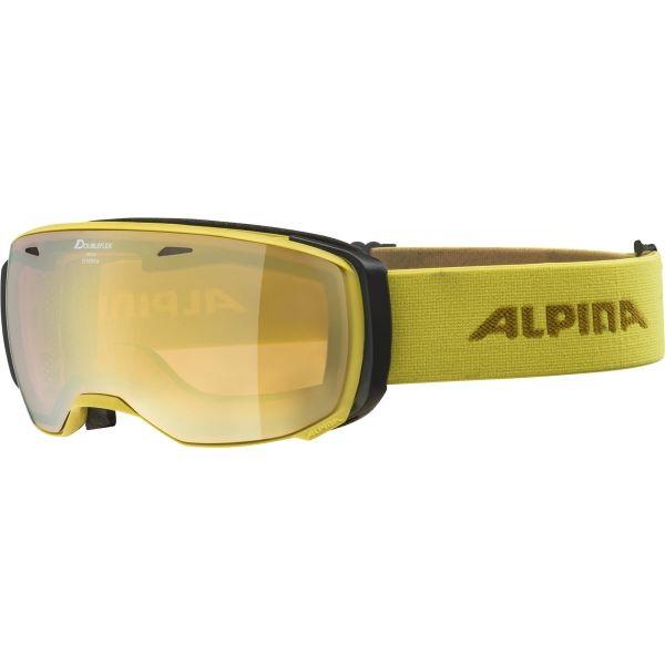 Alpina Sports ESTETICA HM sárga NS - Síszemüveg