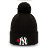 Dámska zimná klubová čiapka - New Era MLB WMNS TWINE BOBBLE KNIT NEW YORK YANKEES - 1