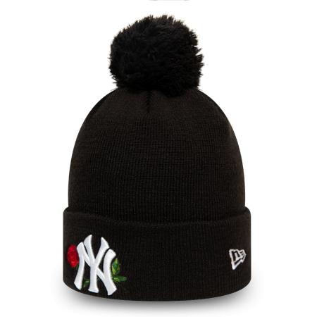Dámska zimná klubová čiapka - New Era MLB WMNS TWINE BOBBLE KNIT NEW YORK YANKEES - 2