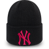 Căciulă club de iarnă damă - New Era MLBWMNS LEAGUE ESSENTIAL CUFF KNIT NEW YORK YANKEES - 1
